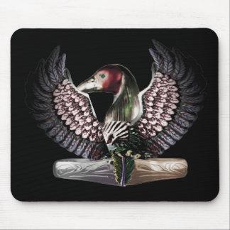 Warrior for wisdom- hawk/ ibis mousepad