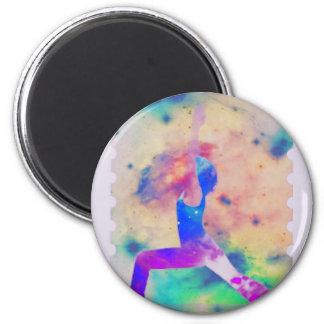 Warrior Goddess Yoga Series Magnet