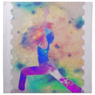 Warrior Goddess Yoga Series Napkin