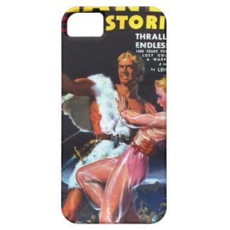 Warrior in White Fur iPhone 5 Case
