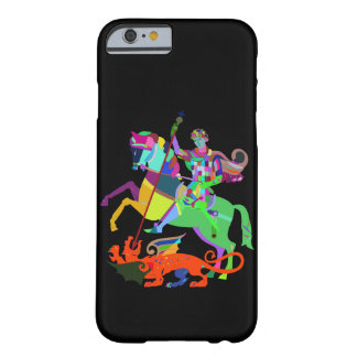 Warrior Kills a Dragon Barely There iPhone 6 Case