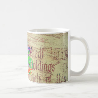 Warrior Kills a Dragon Coffee Mug
