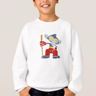 Warrior Monkey . Sweatshirt