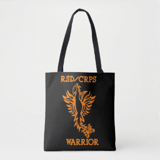 Warrior/Phoenix...RSD/CRPS Tote Bag