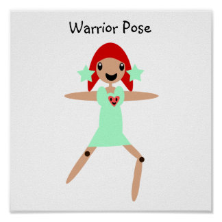 Warrior Pose Poster