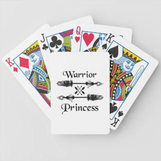 warrior princess bicycle playing cards