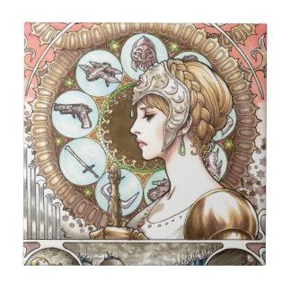 Warrior Princess Ceramic Tile
