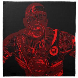 Warrior - red napkin