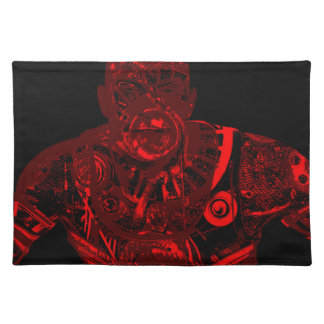 Warrior - red placemat