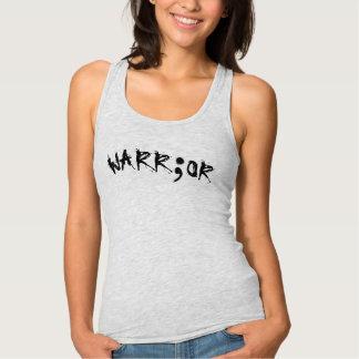Warrior Semicolon-Suicide Survivor Singlet