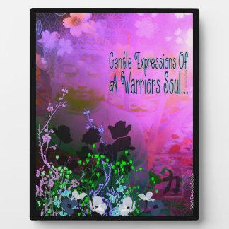 Warrior Soul Buddha Picture Plaque
