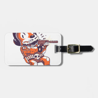 Warrior Spacial Luggage Tag