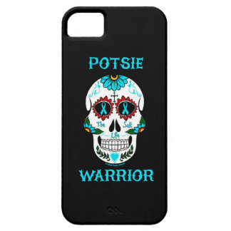Warrior/Sugar skull...P.O.T.S. Case For The iPhone 5