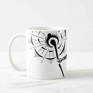Warrior woman mug