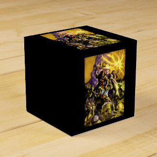 Warriors and Wizards Fantasy Characters Container Favour Box