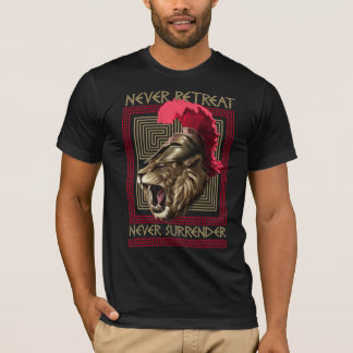 Warriors Way History: Spartan Lion T-Shirt