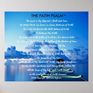 WarriorsCreed Faith Psalm Water Dock Poster