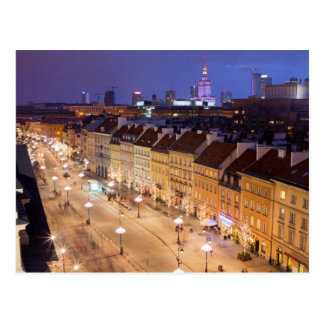 Warsaw by Night Postcard