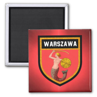 Warsaw  Flag Magnet