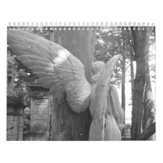 Warsaw in black and white wall calendars