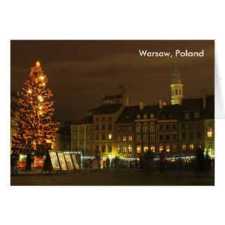 Warsaw, Poland Card