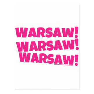 Warsaw! Postcard