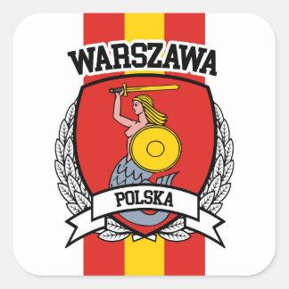 Warsaw Square Sticker