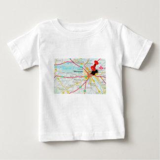 Warsaw, Warszawa  in Poland Baby T-Shirt