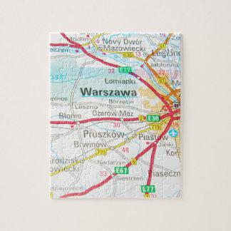 Warsaw, Warszawa  in Poland Jigsaw Puzzle