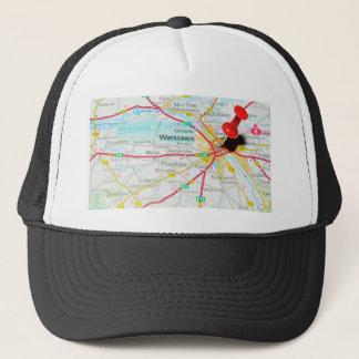 Warsaw, Warszawa  in Poland Trucker Hat