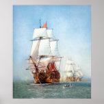 Warship Victory Print