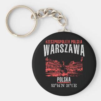 Warszawa Key Ring