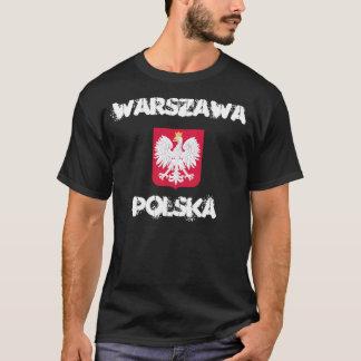 Warszawa, Polska, Warsaw, Poland with coat of arms T-Shirt