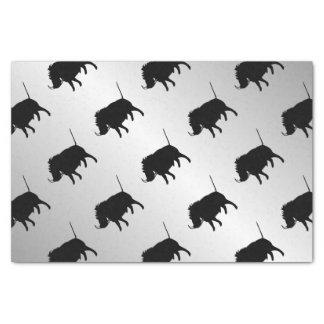 Wart Hog Silver Tissue Paper
