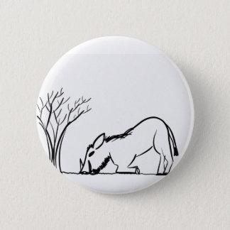 Warthog 6 Cm Round Badge