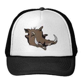 Warthog Head Trucker Hats