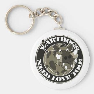 Warthog Love Key Ring