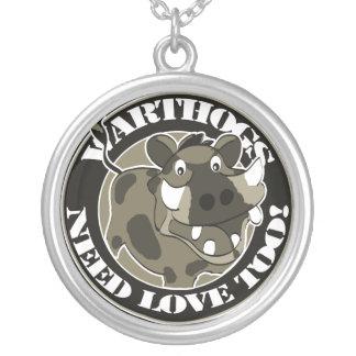 Warthog Love Necklace