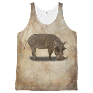 WARTHOGS All-Over PRINT SINGLET