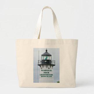 Warwick Neck Lighthouse, Rhode Island Tote Bag