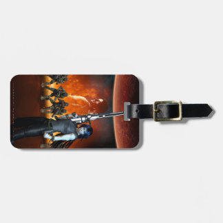 Was Once a Hero Luggage Tag