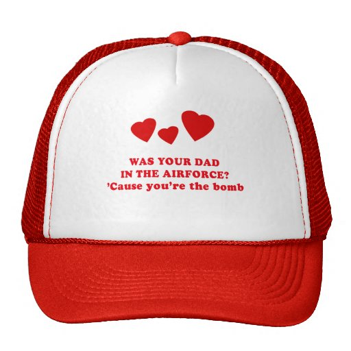 WAS YOUR DAD IN THE AIRFORCE? MESH HATS