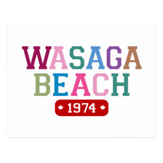 Wasaga Beach 1974 Postcard