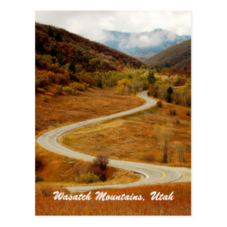 Wasatch Mountains, Northern Utah Postcard