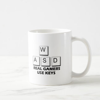 WASD - Real Gamers Use Keys Coffee Mug