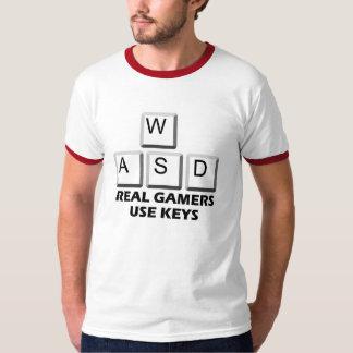 WASD - Real Gamers Use Keys T-Shirt