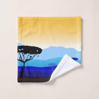 Wash cloth design exotic