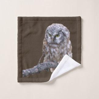 Wash Cloth w/ owl
