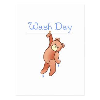 WASH DAY POSTCARD