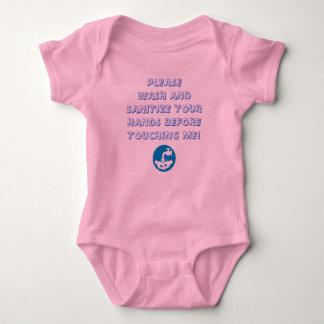 Wash Your Hands! Baby Bodysuit
